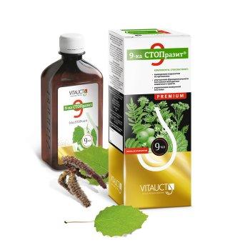 9-ка СТОПразит Premium, 250 мл. от Vitauct. Защита от паразитов